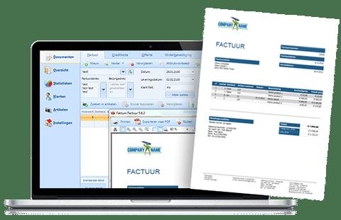faktumfactuur - factuur programma